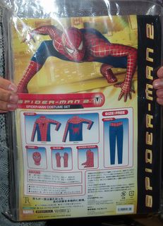 Spiderman costume set